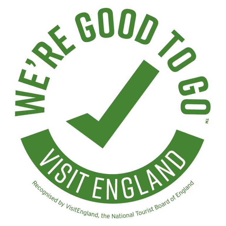 We are good to go. Visit Britain Logo